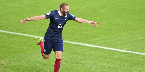 La France évite le piège du Honduras (3-0) - La Libre