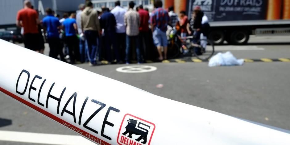 Delhaize: les syndicats mèneront des actions mercredi