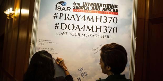 MH370: la nouvelle zone de recherches dévoilée avant la fin du mois - La Libre