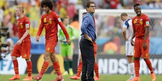 """Capello: """"Nous avons mieux joué que la Belgique"""" - La Libre"""