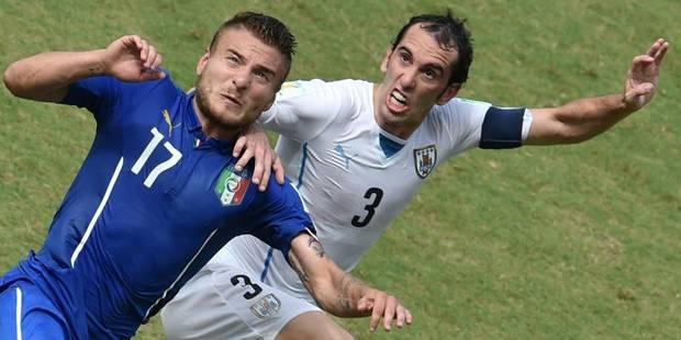 L'Uruguay botte l'Italie (0-1) - La Libre