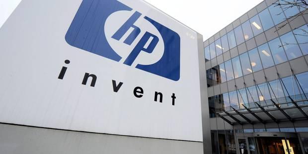 HP va supprimer 300 emplois supplémentaires en Belgique - La Libre