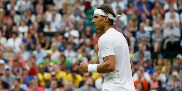 Wimbledon: Nadal et Federer en huitièmes - La Libre