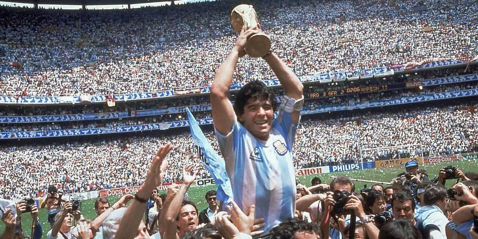 """Maradona: """"Si on ne se réveille pas, on va avoir des problèmes contre la Belgique"""""""