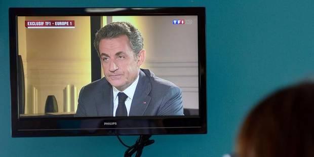 """Sarkozy soupçonne une """"obsession politique"""" à son encontre - La Libre"""