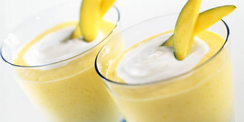 Le soleil de la mangue dans son verre