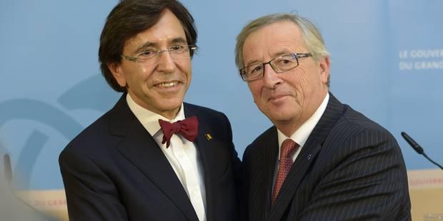 Qui sera le commissaire belge dans l'équipe Juncker? Di Rupo veut trancher rapidement - La Libre