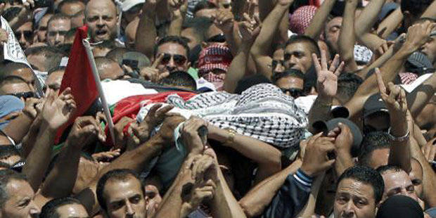 """Palestinien tué: les suspects arrêtés sont des """"juifs extrémistes"""""""