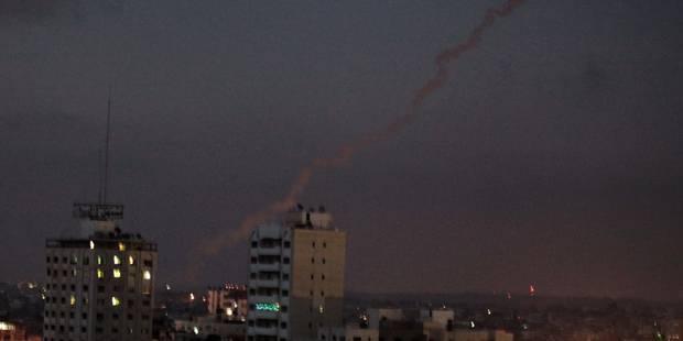 Washington condamne les tirs de roquettes depuis Gaza contre Israël - La Libre