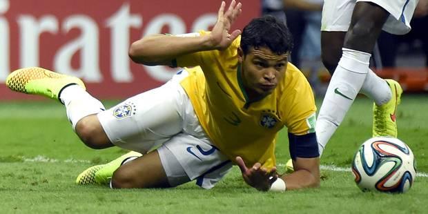 """Thiago Silva: """"Nous ne méritions pas ce sort"""" - La Libre"""