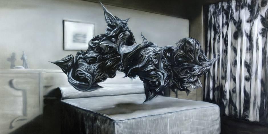 Stephan Balleux prend la peinture très au sérieux