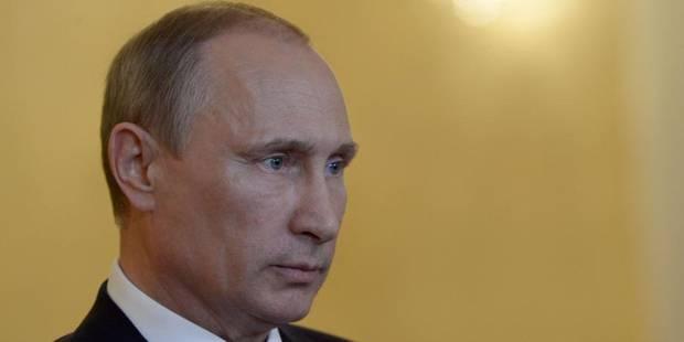 Crash d'un avion en Ukraine: Poutine accable l'Ukraine - La Libre