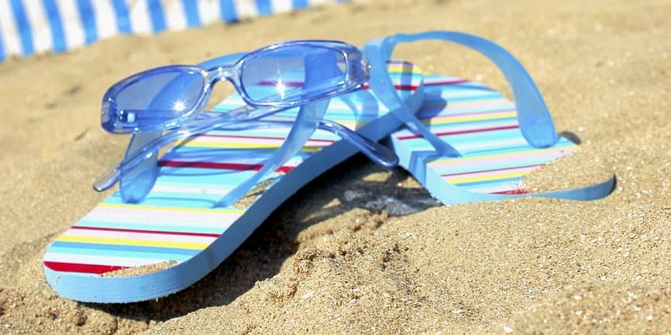 Des tongs en été? Attention à vos pieds!