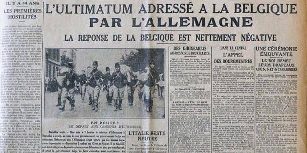 """Du """"Patriote"""" à """"La Libre Belgique""""…"""