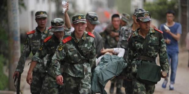 Un séisme fait au moins 367 morts dans le sud de la Chine - La Libre