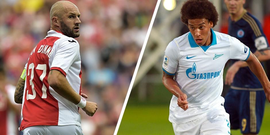 Ligue des Champions: Le Standard affrontera le Zenit et Axel Witsel