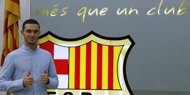 Thomas Vermaelen officiellement transféré à Barcelone - La Libre