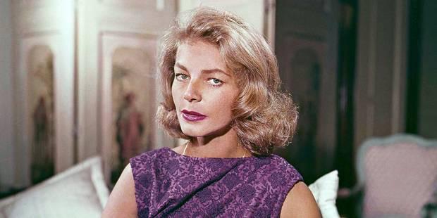 L'icône hollywoodienne Lauren Bacall s'est éteinte - La Libre