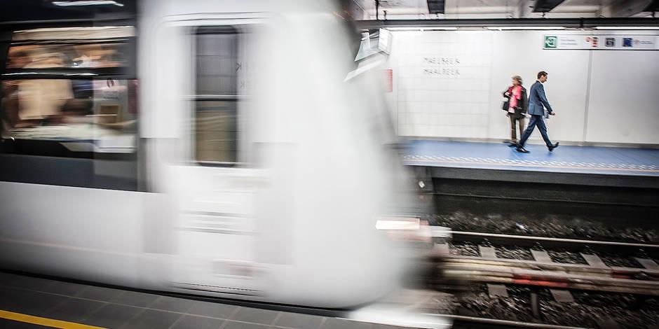 Subway / Mobility / Traffic / Traffic jam / Metro / STIB / MIVB / City