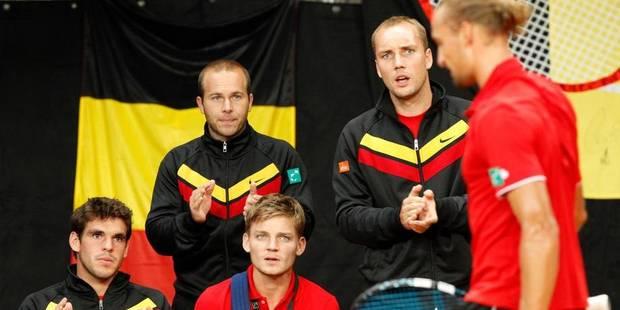 Coupe Davis : le duel entre l'Ukraine et la Belgique se jouera à Tallinn - La Libre