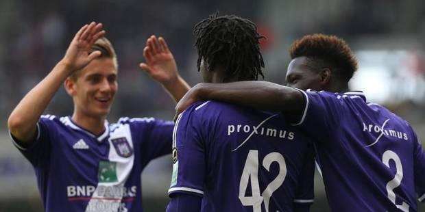 Anderlecht seul en tête grâce à une petite victoire contre Waasland-Beveren (1-0) - La Libre