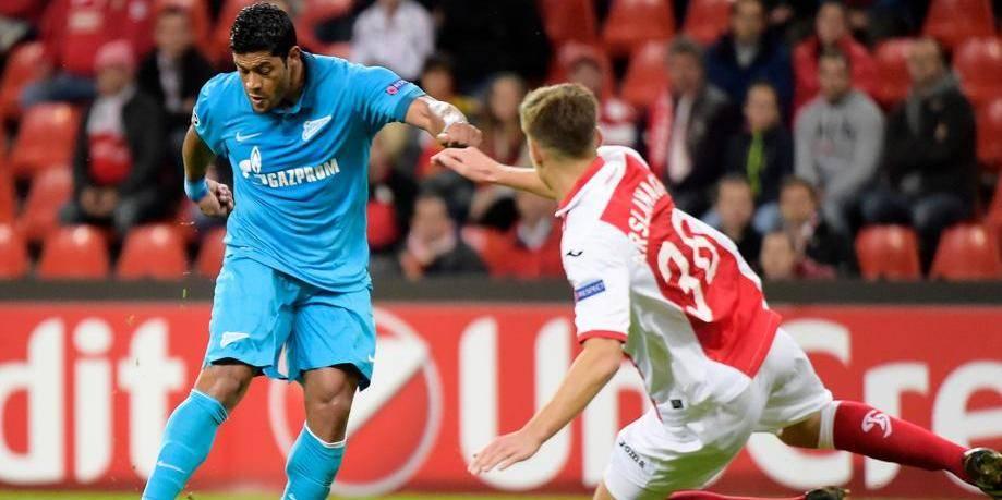 Le Zenit trop fort pour le Standard (3-0)