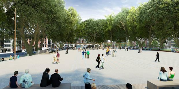 Liège: Le chantier de la place de l'Yser a débuté - La Libre