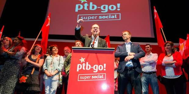 """Le PTB organise une """"Protest Parade"""" le 19 octobre à Bruxelles - La Libre"""