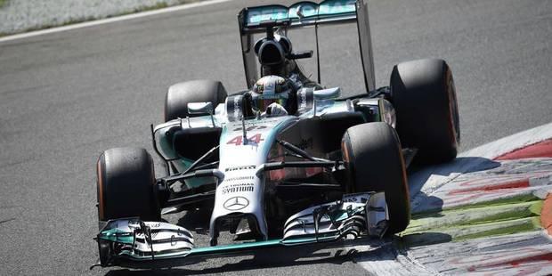 GP d'Italie: Lewis Hamilton s'offre la pole - La Libre