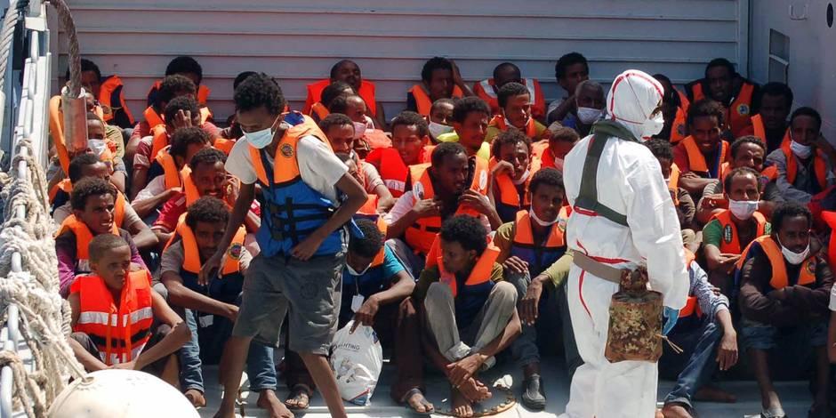 Drames en Méditerranée: chronique de naufrages annoncés - La Libre
