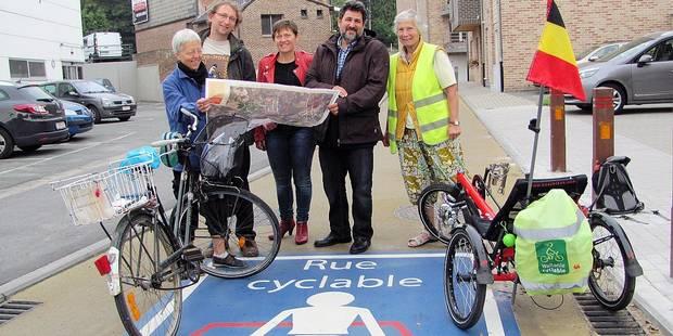 La première rue cyclable wallonne - La Libre