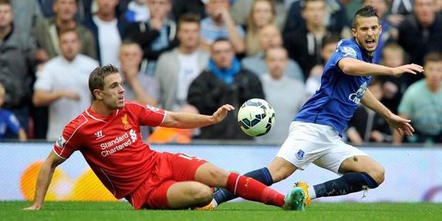 Kevin Mirallas quitte le derby de Liverpool blessé - La Libre