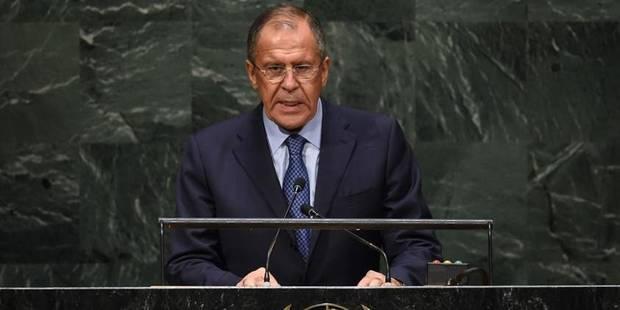 Lavrov fustige à l'ONU l'interventionnisme militaire américain - La Libre