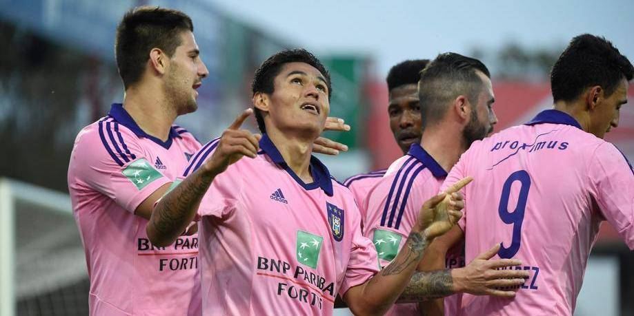 Anderlecht déroule face à Zulte (0-2)