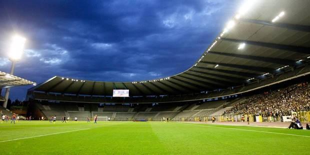 Trois supporters de foot sur 4 favorables à la construction d'un nouveau stade à Bruxelles - La Libre