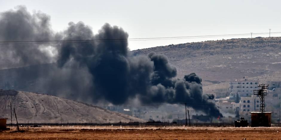 Nouvelles frappes aériennes de la coalition sur des positions jihadistes à Kobané