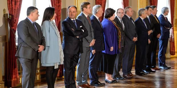 Le gouvernement Michel a prêté serment (Photos + Vidéos) - La Libre