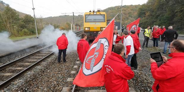 Grève sur le rail à Charleroi-Sud: 90 trains supprimés - La Libre