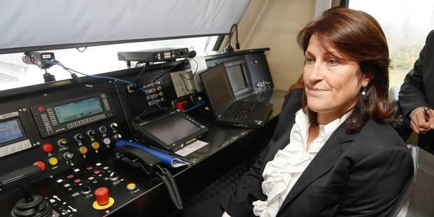 Grève SNCB: la ministre Galant va voir les syndicats de cheminots - La Libre