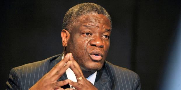 Le médecin congolais Denis Mukwege lauréat du prix Sakharov 2014 - La Libre