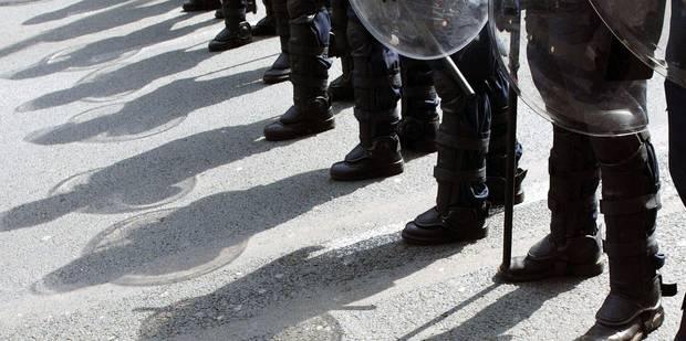 Les policiers menacent de perturber la tenue du Conseil européen - La Libre