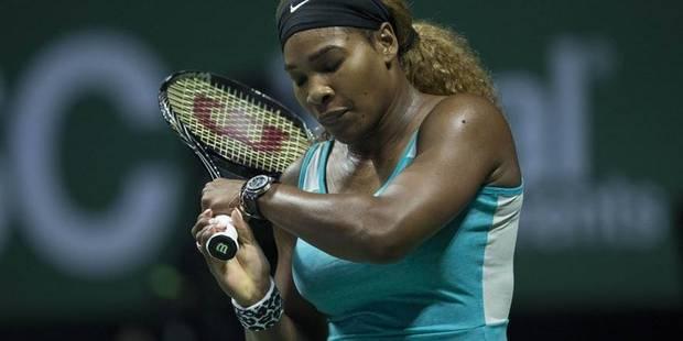 Masters: Simona Halep corrige Serena Williams - La Libre