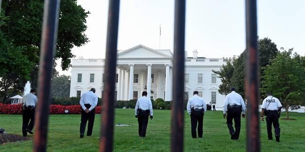 Un homme arrêté après avoir grimpé par-dessus la grille de la Maison Blanche - La Libre