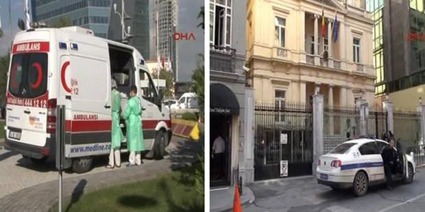 """Turquie: Des colis contenant une """"poudre jaune"""" envoyés au consulat de Belgique - La Libre"""