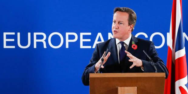 La grosse colère de David Cameron - La Libre