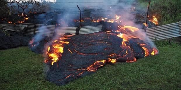 Hawaï: les images impressionnantes du volcan Kilauea en éruption - La Libre