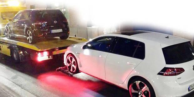 Une vingtaine de voitures de luxe immatriculées en Allemagne saisies à Bruxelles - La Libre