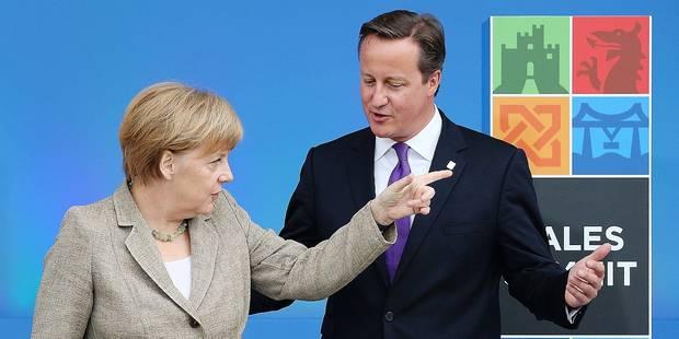 Migrations : Merkel menacerait Cameron - La Libre