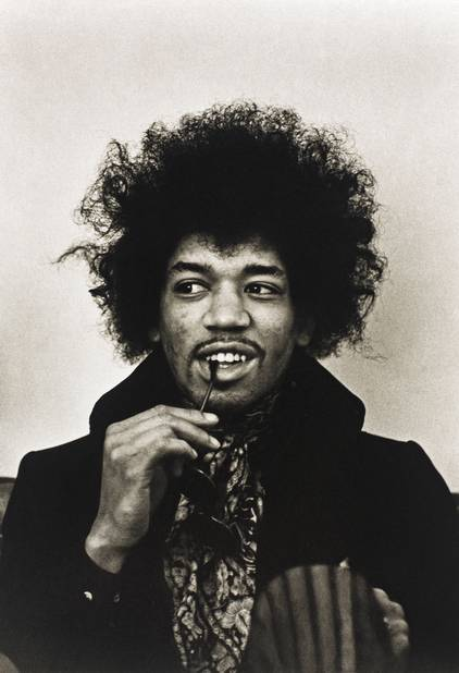 Jimi Hendrix a porté durant toute sa vie cette fine moustache