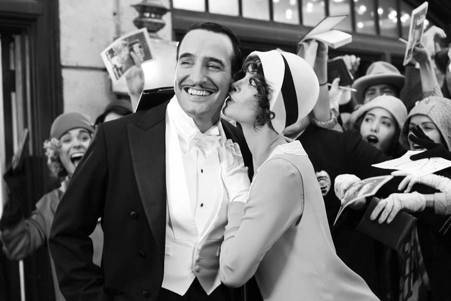 Jean Dujardin portait la moustache dans le film The Artist, pour rendre hommage à Clark Gable